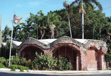 West Martello — home of the Key West Garden Club.