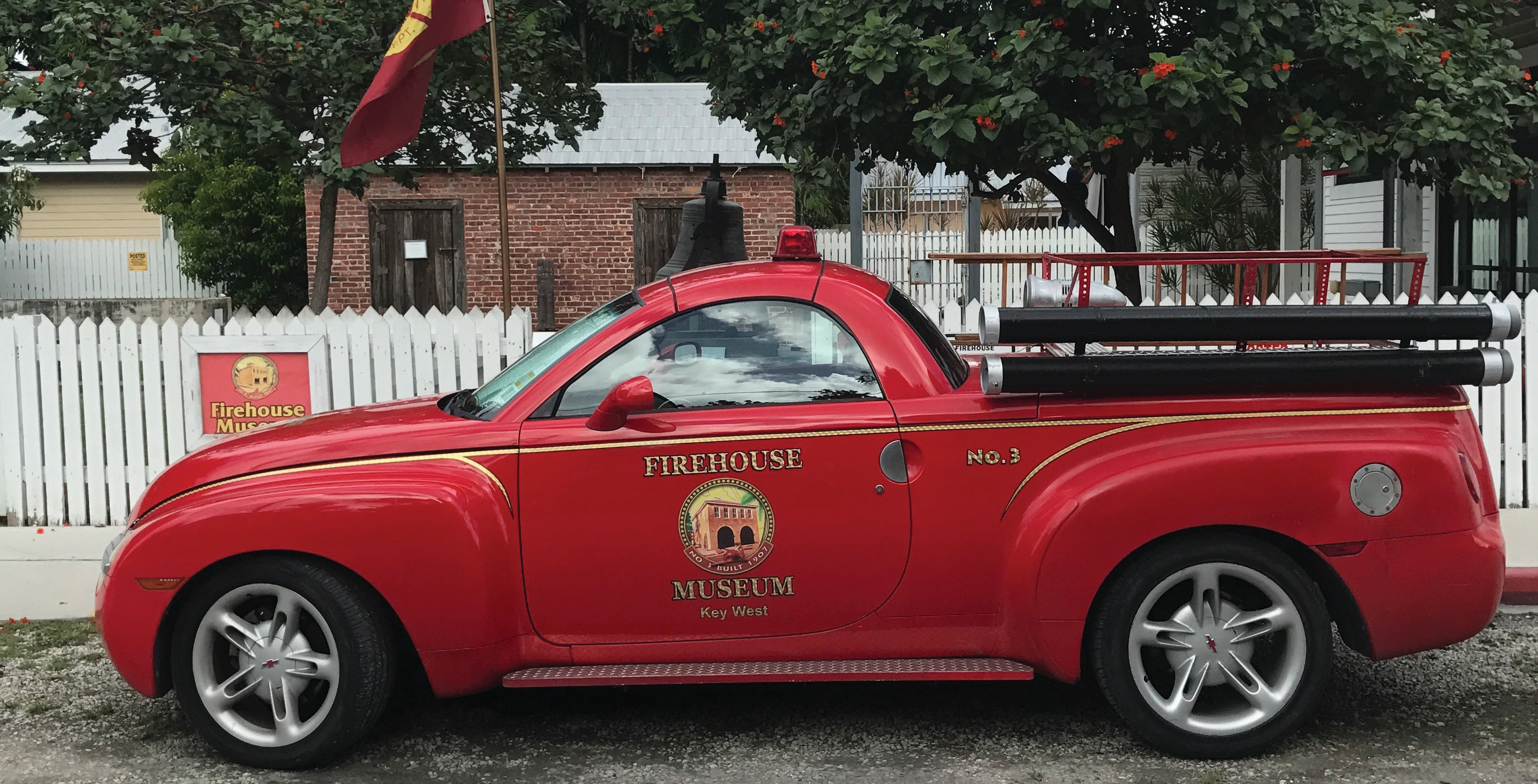 The Firehouse Museum is open Tuesday-Saturday from 10 a.m. to 3 p.m.